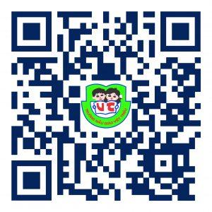 Phụ huynh xin vui lòng quét mã QR này để tới mẫu đăng ký nhập học trực tuyến của trường Mẫu giáo Việt Triều